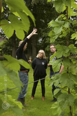 Henk Wesselink vertelt over de groei van hop